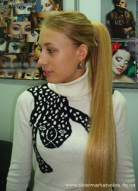 Красивые хвосты на средние волосы - 90f8